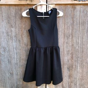H&M Peplum Black Dress